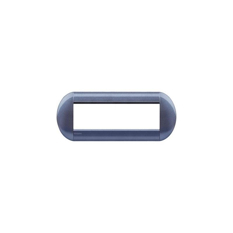 BTICINO LIVINGLIGHT PLACCA TONDA 7 MODULI LNB4807GP