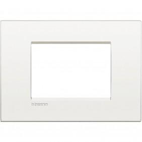 Bticino Livinglight plate AIR 3 modules pure...