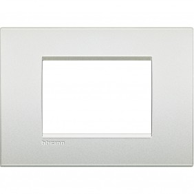 Bticino Livinglight plate AIR 3 modules pearl...