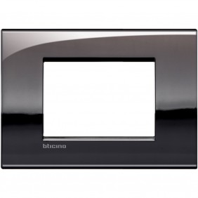 Bticino Livinglight plate AIR 3 modules pewter...