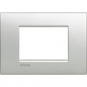 BTICINO LIVINGLIGHT PLACCA AIR 3 MODULI TECH LNC4803TE