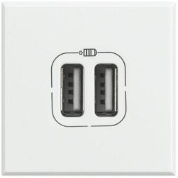 Presa caricatore USB Bticino Axolute 2 moduli HD4285C2