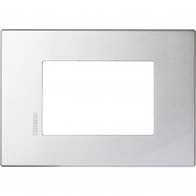 Plate 3 Places Bticino Axolute AIR Tech HW4803HC