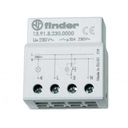 Finder rele ad impulsi elettronico incasso FIN13918230