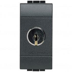 Bticino Livinglight switch with key 16A L4012