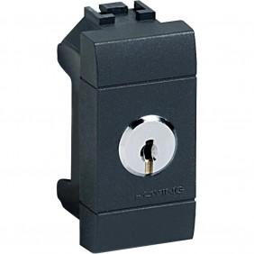 Deviatore Bticino LivingLight 1P 16A a chiave L4022