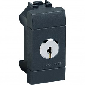 Diverter Bticino LivingLight 1P 16A key L4022