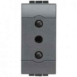 BTICINO LIVINGLight  placa de interruptor de CORRIENTE de 10A L4113