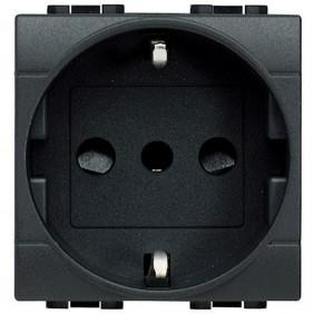 Bticino Livinglight schuko socket 2+T L4140