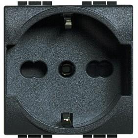 Bticino Living Light Schuko socket L4140/16