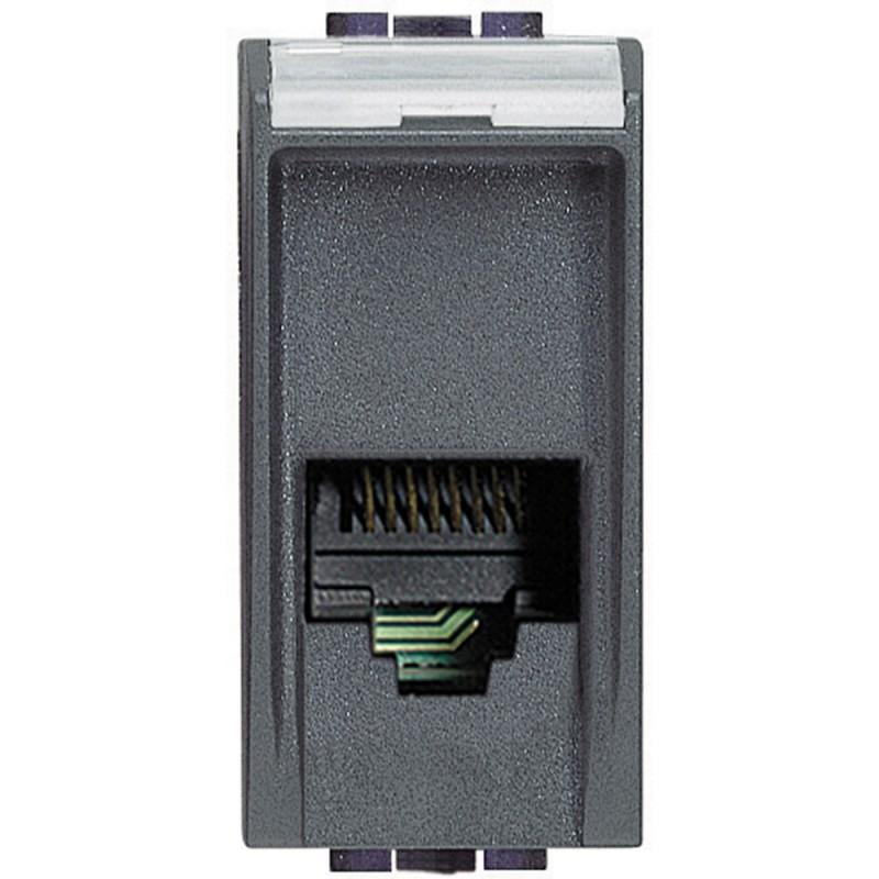 BTICINO LIVINGLIGHT plaque d'interrupteur PRISE TÉLÉPHONIQUE RJ11 L4258/11N