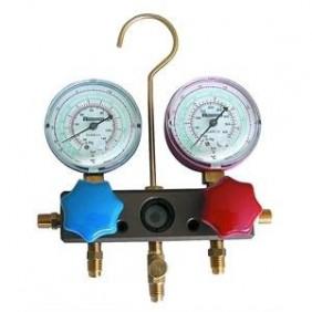 Manifold Tecnogas type 4-way for GAS R22-R407C-R410A-11434