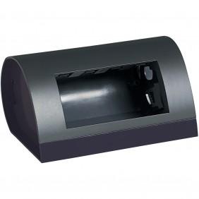 Bticino direct anthracite 4 modules box 150432