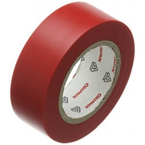 Red insulating tape CELLPACK 19X25X0,15 PVC 145800