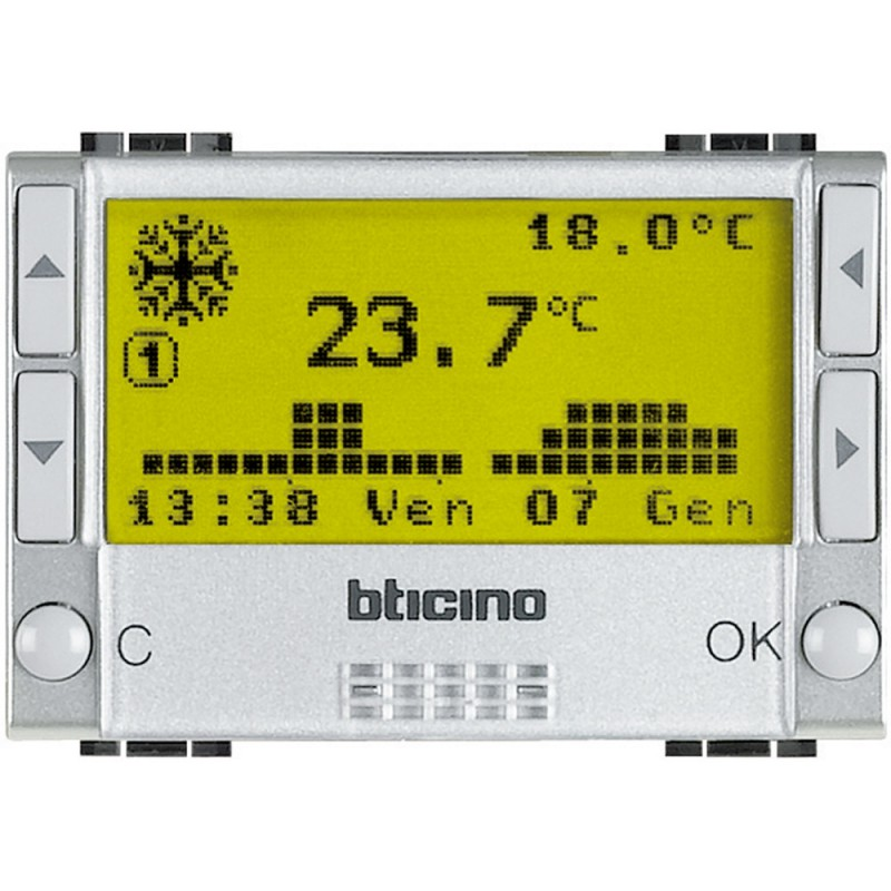 BTICINO LIVINGLight  TECH CHRONO NT4451