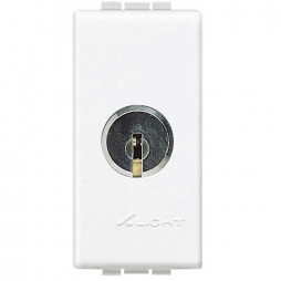 Deviatore Bticino LivingLight 1P 16A a chiave N4022