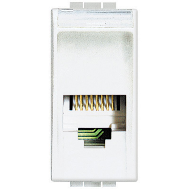 BTICINO LIVINGLight  placa de interruptor, toma de TELÉFONO N4258/11N