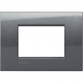 Bticino Livinglight placca 3 moduli quadra...