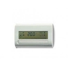 FINDER CRONOTERMOSTATO TOUCH SCREEN BIANCO PANNA