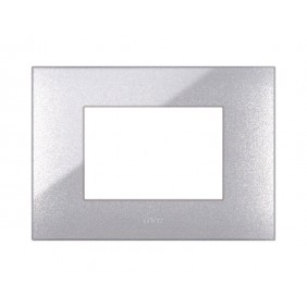 Plaque Ave YOUNG44 color metallic grey, 3...