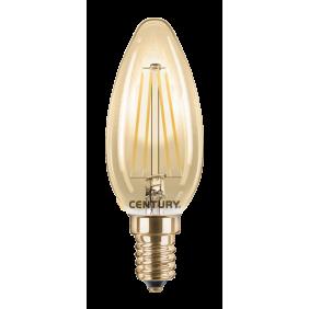 Lampadina Candela Century Vintage 4W LED INCANTO EPOCA E14 INVM1-041422