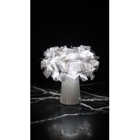 Lampada da tavolo Slamp CLIZIA TABLE Fumè senza fili ricar. CLI78TAVB001F000