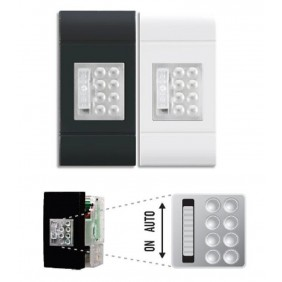 Linergy 1 module emergency lamp and downlight...