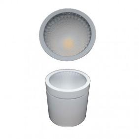 Plafoniera Nobile LED 10W 3000K 50° gradi IP20 colore bianco DL013/50/BI