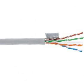Cavo rete LAN Fte Cat.6 U/UTP LSZH 305 Metri a 4 coppie ECA6UCLG