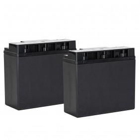 Pair of Battery RCF ACBAT18 12V EN54-4 13360317