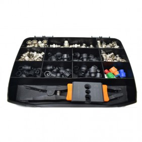 Connector KIT, wire-stripping tool pliers FAIT KIT2-BNC