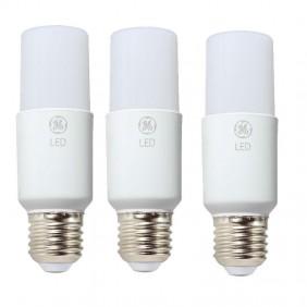 Lampada LED tubolare GE 10W attacco E27 3000K Kit da 3 pezzi 93023173
