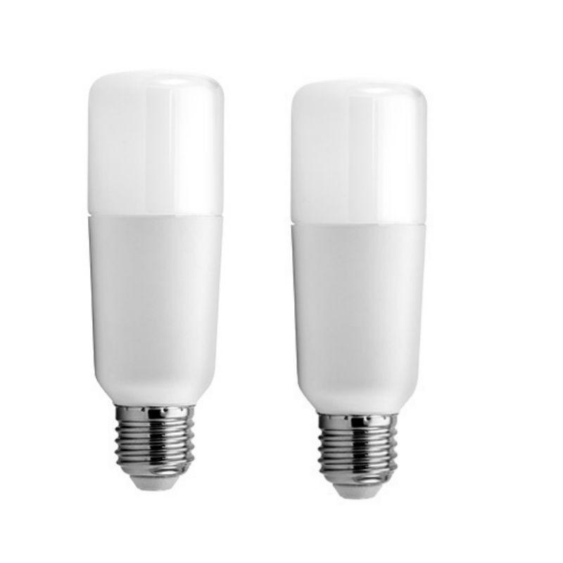 Lampada led tubolare ge 16w attacco e27 3000k kit da 2 for Lampada tubolare led