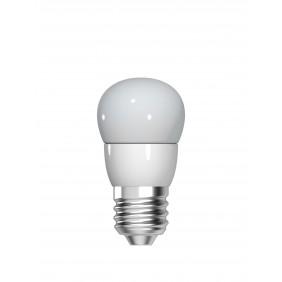 Lampadina Sfera LED GE 4,5W attacco E27 2700K vetro opale 93012864