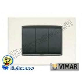 VIMAR EIKON- PLACCA 3 MODULI 20653.01