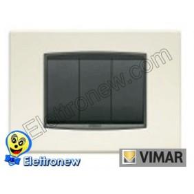 VIMAR EIKON- PLACCA 3 MODULI 20653.02