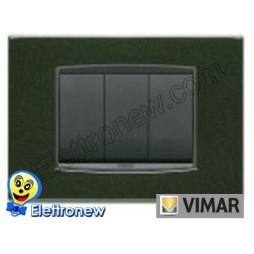 VIMAR EIKON- PLACCA 3 MODULI 20653.05