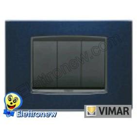 VIMAR EIKON- PLACCA 3 MODULI 20653.06