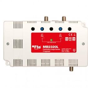 Centralino FTE larga banda ad 2 ingressi BIII e UHF MB2320L