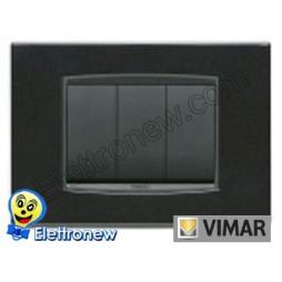 VIMAR EIKON- PLACCA 3 MODULI 20653.12