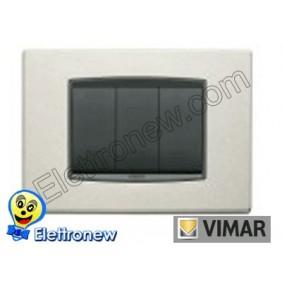 VIMAR EIKON- PLACCA 3 MODULI 20653.13