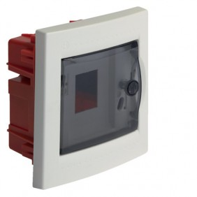 BOCCHIOTTI SWITCHBOARD WITH DOOR FLUSH-4 MODULES IP40 04100
