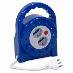Extension Roller Master with 2 universal sockets 5 Metres 04005