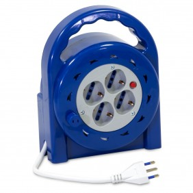 Extension Roller Master with 4 universal sockets 8 Metres 04008