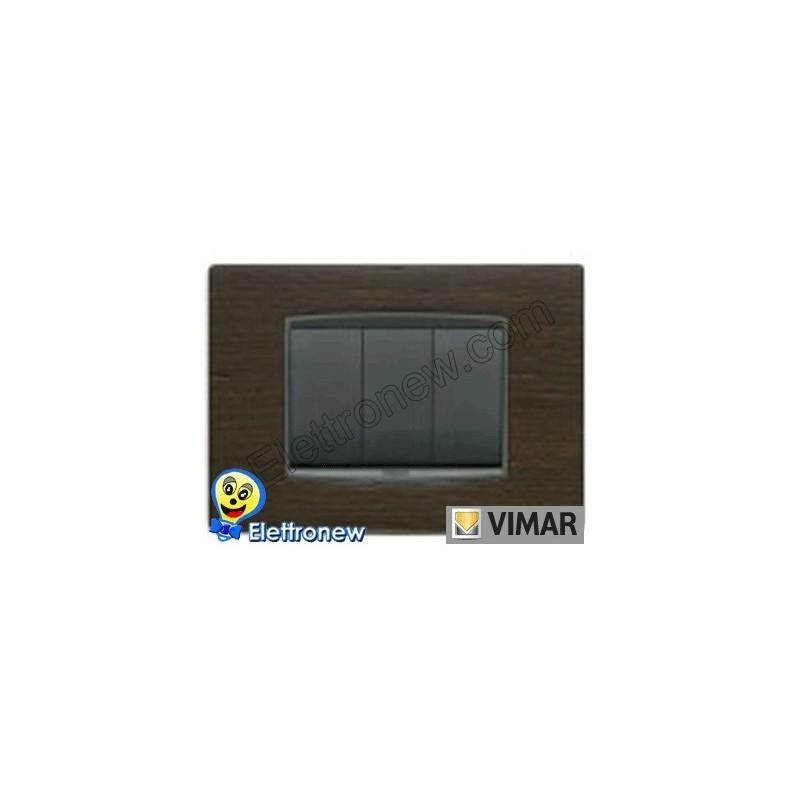 VIMAR EIKON- PLACCA 3 MODULI 20653.31