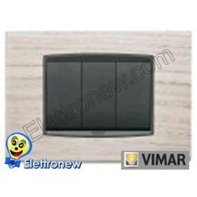 VIMAR EIKON- PLACCA 3 MODULI 20653.32