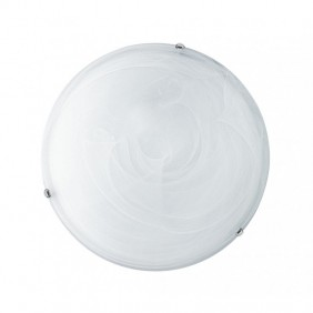 Ceiling light round Fan Europe MOON 12W D. 30 White THE-MOON/PL30