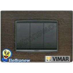 VIMAR EIKON- PLACCA 3 MODULI 20653.33