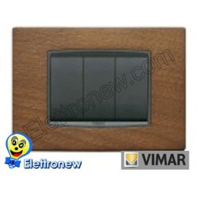 VIMAR EIKON- PLACCA 3 MODULI 20653.35