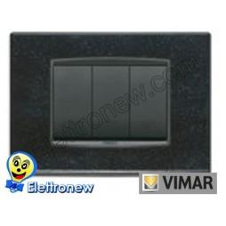 VIMAR EIKON- PLACCA 3 MODULI 20653.51
